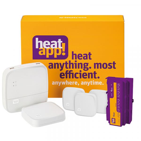 heatapp Startsystem floor Starter-Set Fußbodenheizung