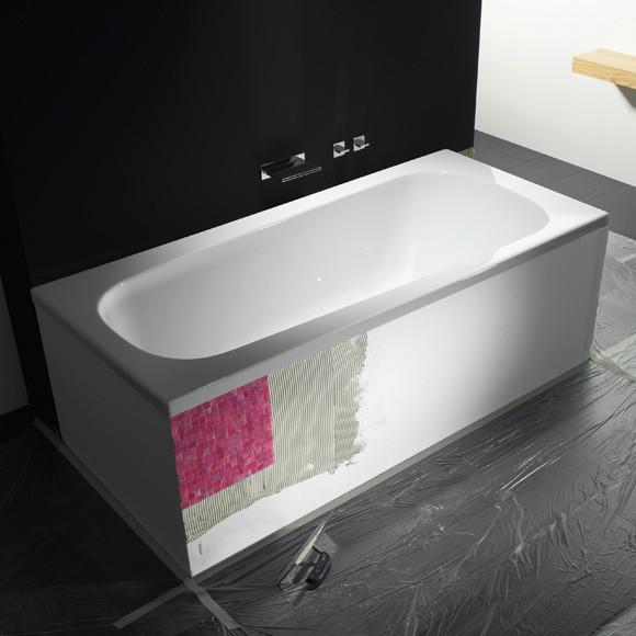 Repabad Wannenträger Genf Duo für Trapez-Badewannen