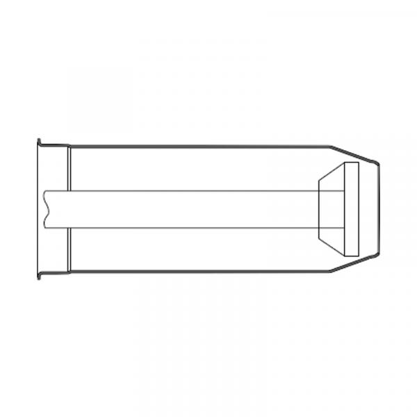 Weishaupt Flammkopfverlängerung um 100 mm WG5N/1-A
