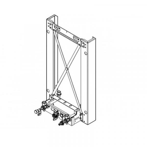 Viessmann Montagerahmen Vitodens 300-W für Aufputz-Montage