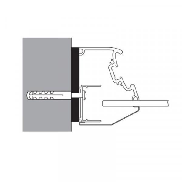 Artweger Twinline 1 Zusatzprofil Stapelprofil 1,2 cm