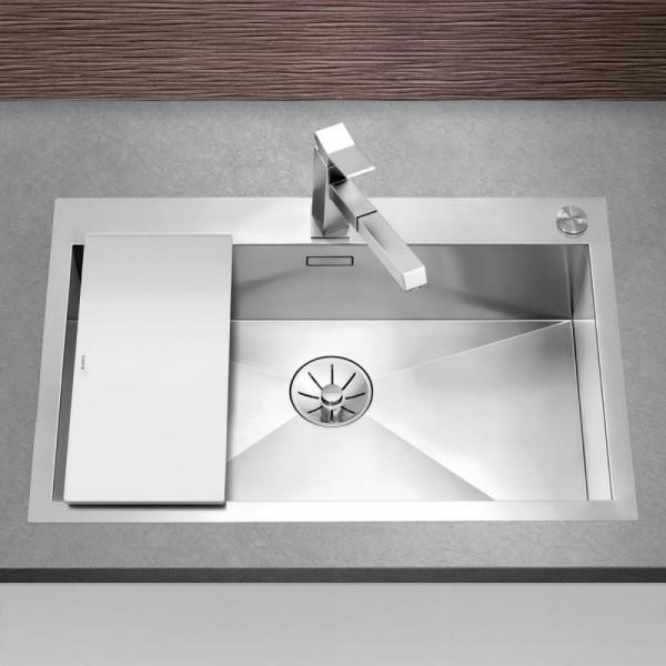 Blanco Zerox 700-IF/A Spüle Edelstahl 76 x 51 cm