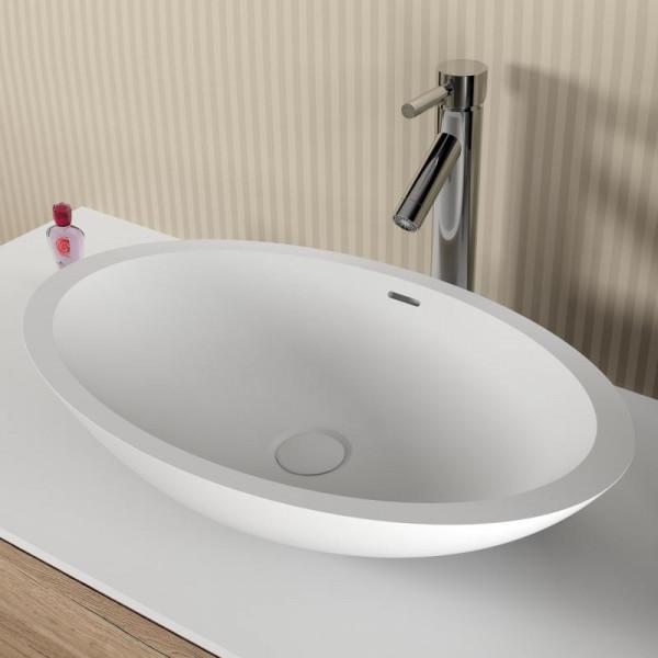 Riho Avella Waschtisch oval 58 x 36 x 14 cm