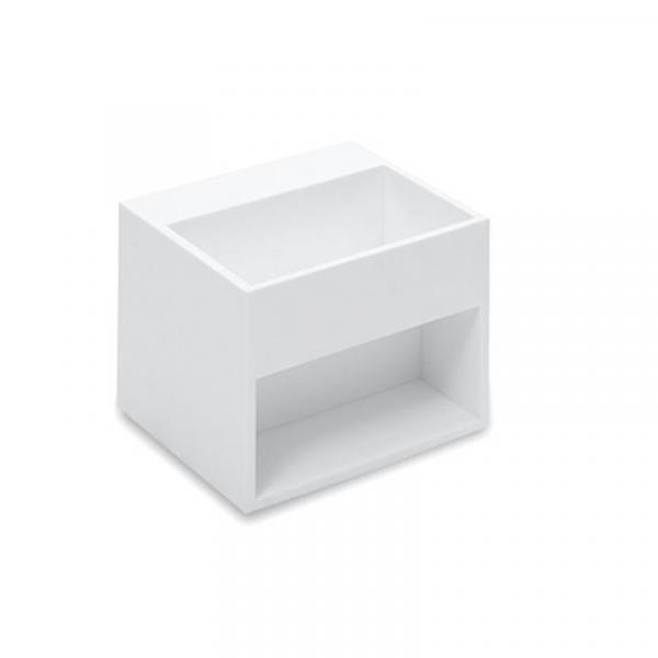 Cosmic Compact Waschbecken weiß 32,5 x 32,5 cm