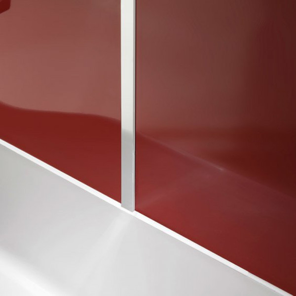 Artweger Artwall Profil Eckprofil innen 135Grad, 260 cm Metall hochglanz