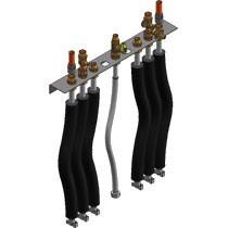 Viessmann Anschluss-Set mit Vormontagekonsole für Aufputzinstallation nach oben