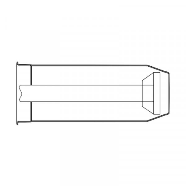 Weishaupt Flammkopfverlängerung um 100 mm WG5F/1-A