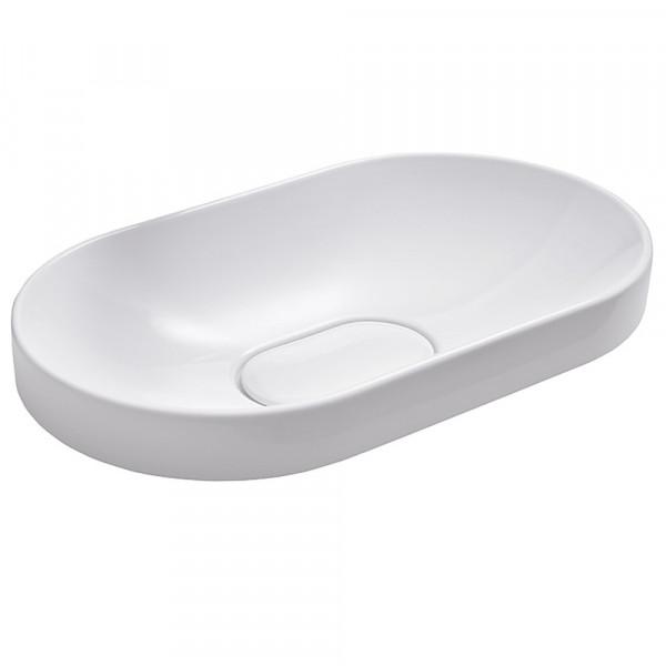 Design-Aufsatz-Waschbecken DEBUG 600 x 340 x 135 mm weiß
