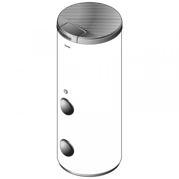 Weishaupt Wassererwärmer WASol310-2 weiß mit 2 Revisionsöffnungen