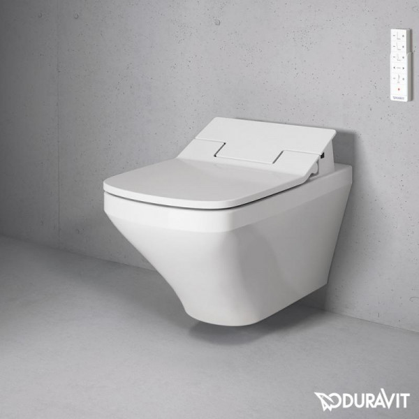 Duravit DuraStyle Wand-Tiefspül-WC Rimless mit NEUEM SensoWash Slim WC-Sitz