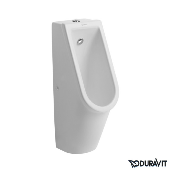 Duravit Starck 3 Urinal Zulauf von oben weiß