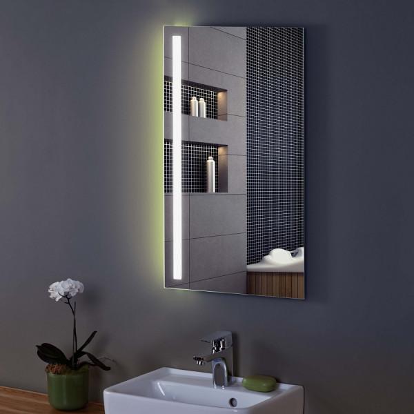 Zierath Tiber Plus Lichtspiegel mit seitlicher LED-Beleuchtung
