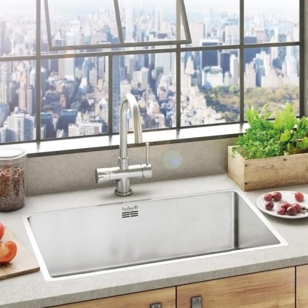 Reginox New York 72 x 40 OKG Küchenspüle 760 x 440 mm
