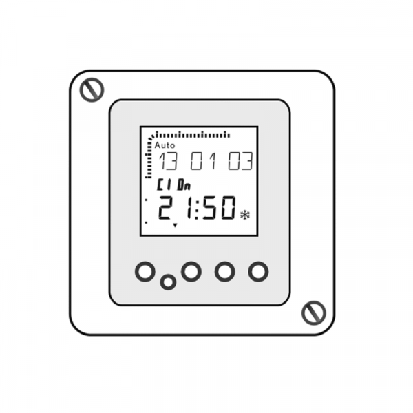 Weishaupt Digitale Zeitschaltuhr WCM-DU 2.0