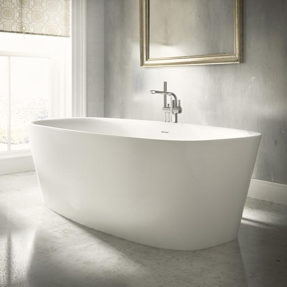 Ideal Standard Dea freistehende Badewanne weiß 170 x 75 cm weiß
