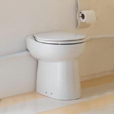 SFA Sanicompact C43 Kompakt-Stand-WC mit Hebeanlage