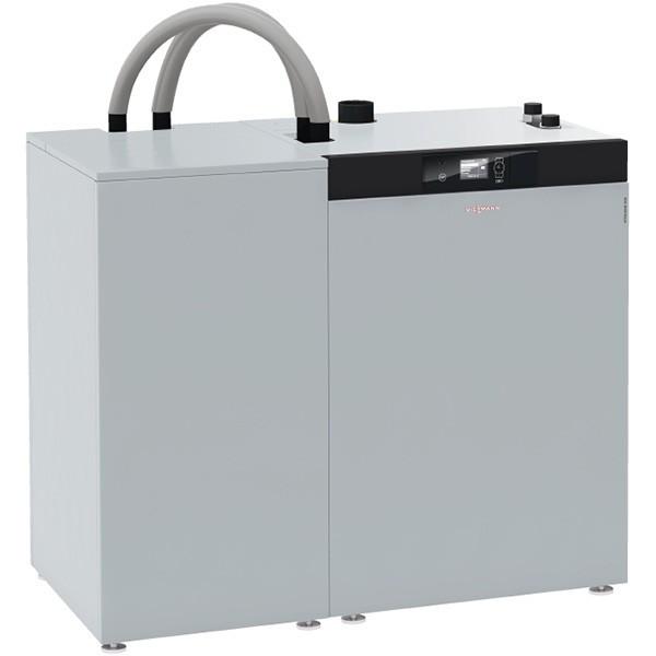 Viessmann Vitoligno 300-C Pelletkessel Saugsystem Vorratsbehälter