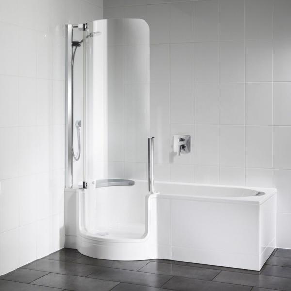 Artweger Twinline 1 Dusch-Badewanne elektrisch veriegelt