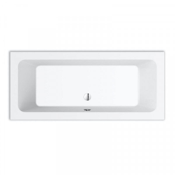 Repabad Abano Rechteck-Badewanne 180 x 80 cm weiß