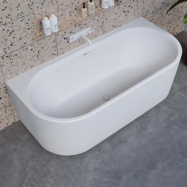 Riho Valor back2wall Vorwand-Badewanne 180 x 80 cm mit Verkleidung