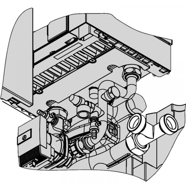 Viessmann Anschluss-Set für Kombination von Vitodens 200-W mit Blockheizkraftwerk