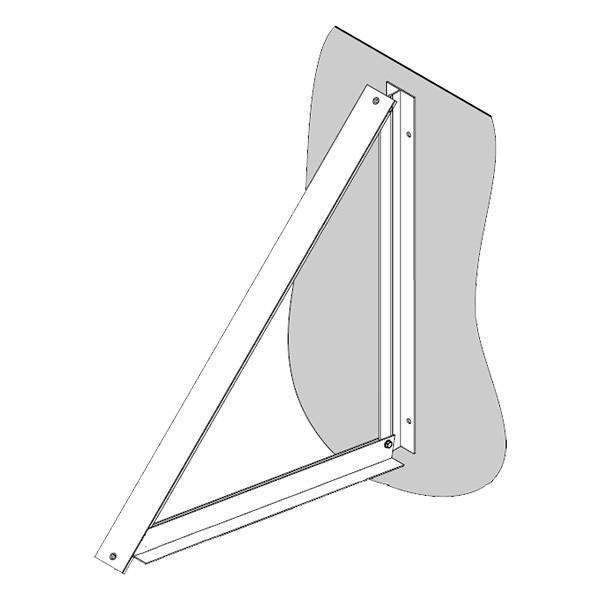 Viessmann Aufständerung SH Fassade 10°-45° senkrecht