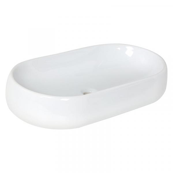 Azzurra Aufsatz-Waschbecken NUVOLA 750x160x400 mm Keramik Weiß