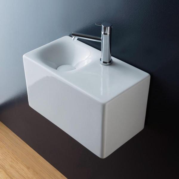 Scarabeo Cube Aufsatz- oder Hängewaschbecken 42 x 24 cm