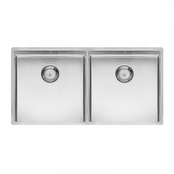 Reginox New York 40 x 40 + 40 x 40 Küchenspüle 860x 440 mm