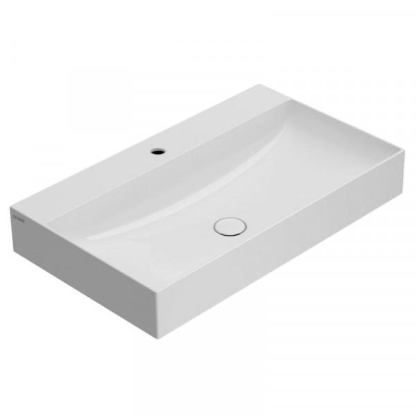 Globo T-EDGE Waschtisch weiß 80 x 47 cm