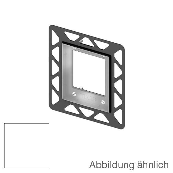 TECE loop / square Urinal-Einbaurahmen für flächenbündige Montage weiß