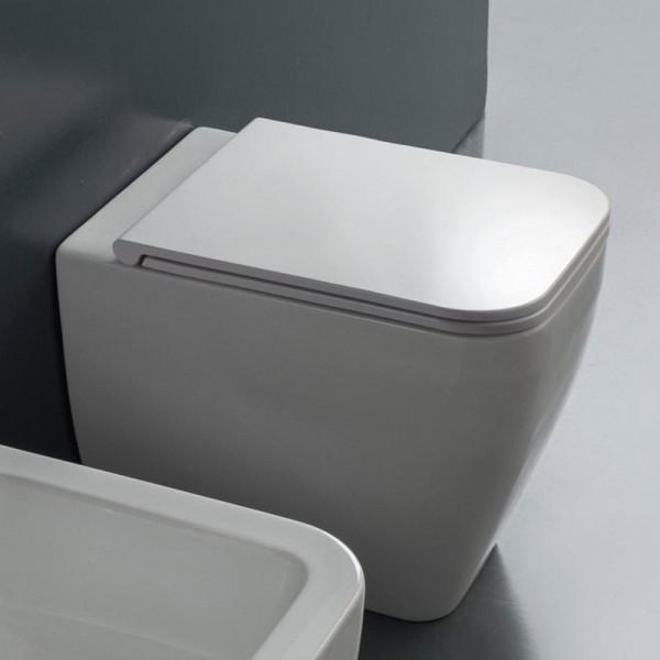 Scarabeo Next Stand-Tiefspül-WC weiß 55 x 36 cm