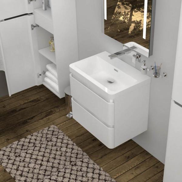 Treos Serie 920 Waschtisch mit Waschtischunterschrank mit 2 Auszügen