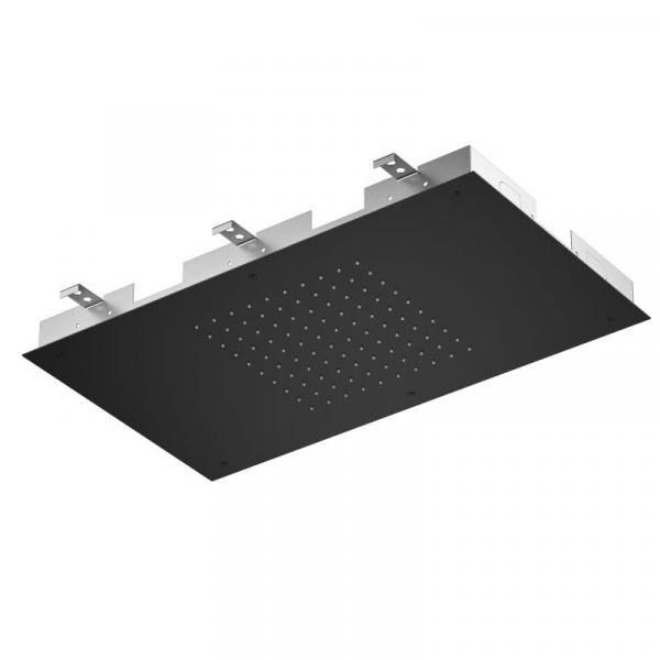 Treos Regenpaneel für Deckeneinbau schwarz matt 700 x 400 mm