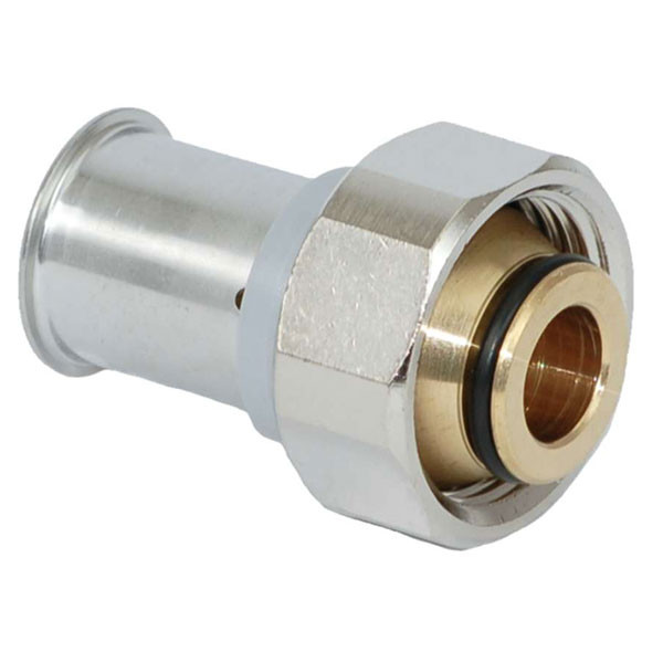 Viessmann Pressverschraubung 16 x 2 mm Messing (10 Stück)