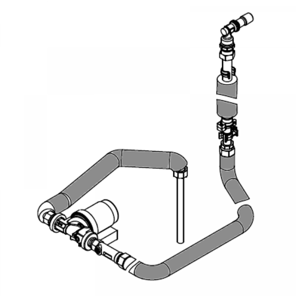Viessmann Anschluss-Set Zirkulationspumpe für Vitodens 333-F