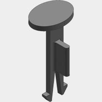 Viessmann Ersatzfixierstifte Flachkanal 150x50
