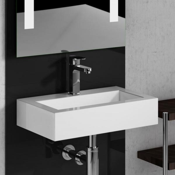 Treos Serie 700 Mineralguss Handwaschbecken 46 x 28 cm