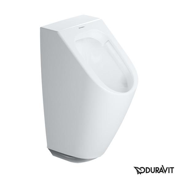 Duravit ME by Starck Elektronik-Urinal, rimless für Batterieanschluss weiß