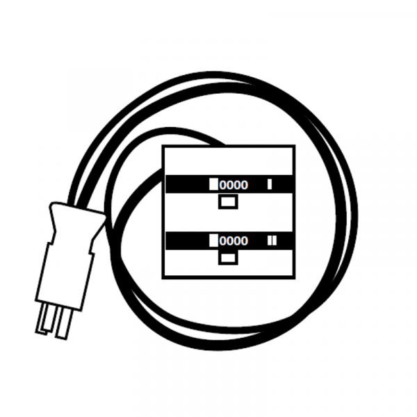 Weishaupt Zeitzähler eingebaut WG5
