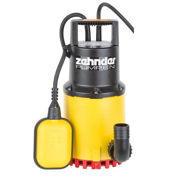 Zehnder S-ZPK 35 A Schmutzwasser-Tauchpumpe für Aggresive Medien mit Schwimmschalter