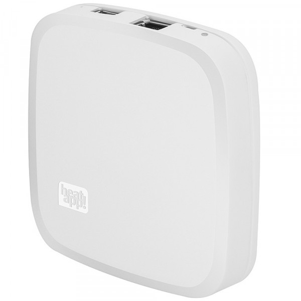heatapp Gateway Z-wave/(W)LAN, inkl.LAN-Kabel, Netzteil