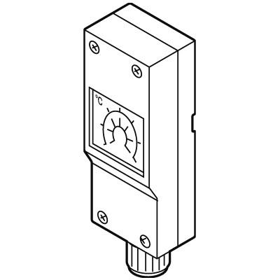 Weishaupt Temperaturregler Typ Jumo Heat THERM-AT