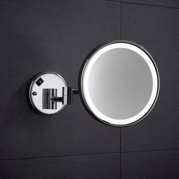 Zierath Mate LED-Kosmetikspiegel mit Vergrößerung