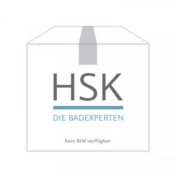 HSK Mittelanschluss-Garnitur Set Durchgang chrom