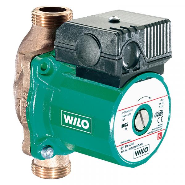 WILO Zirkulationspumpe Star-Z 25/2 EM BL 180mm 1Motor 230 V