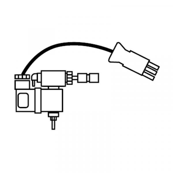 Weishaupt Magnetventil für Luftdruckwächtertest bei Motordauerlauf WG5