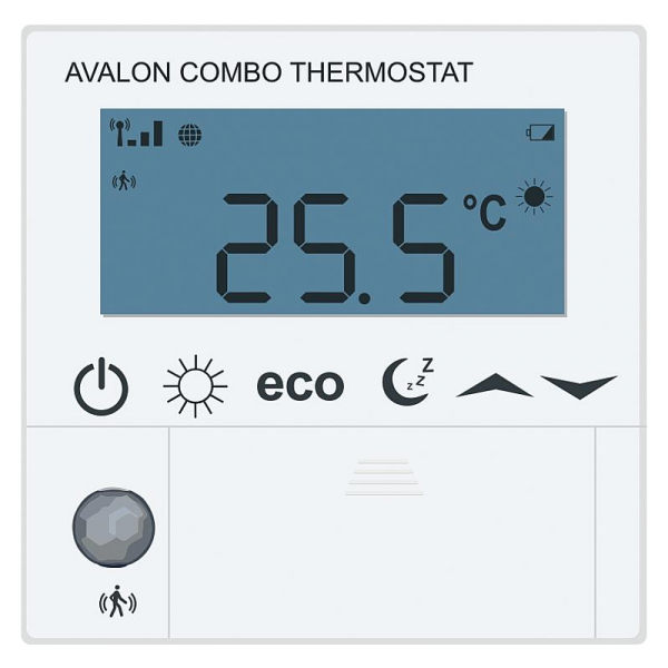 Blossom-ic Funk-Raumthermostat Avalon Combo Batterieversion AA 1,5V