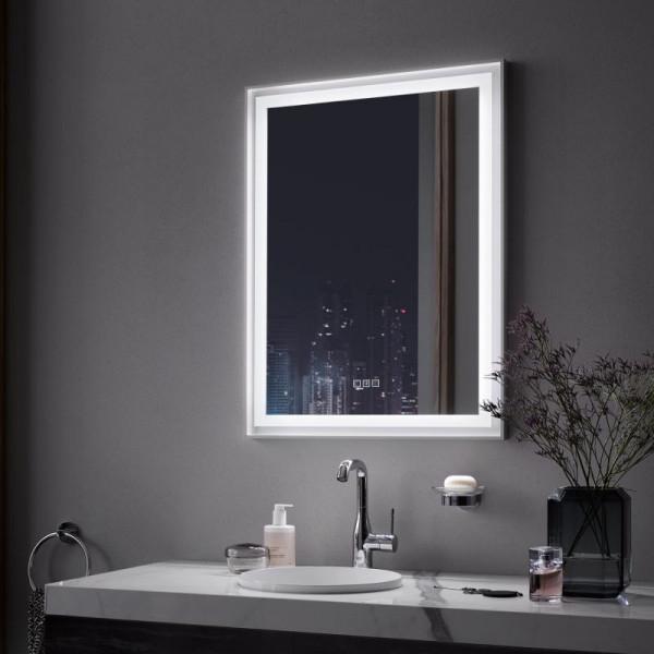 Zierath Lira Pro 2.0 Lichtspiegel mit LED-Beleuchtung und Easy Touch-Bedienfeld
