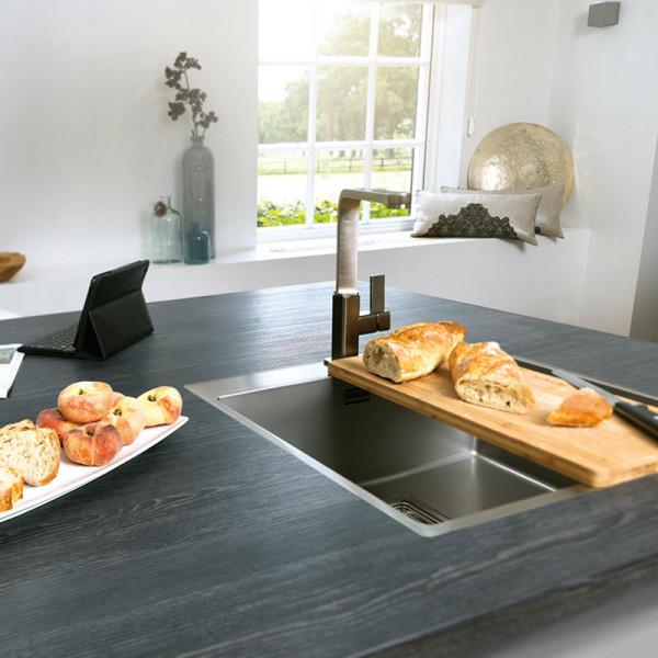 Reginox Texas 40 x 40 Küchenspüle 440 x 440 mm